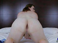 Misha Malice is a sexy BBW tgirl with a hot thick body, natural breasts, a juicy ass and a sexy cock! Watch this horny transgirl jacking off for you!