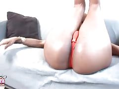 Her body is a fucking work of art and she takes very good care of it. Long, luscious legs leading up to one of the most inviting and delicious asses you`ll ever see, feel or fuck.
