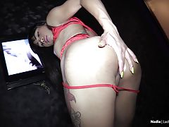 This fabulous LB babe loves shaking her ass and teasing those close to her. Now you can enjoy all the action in sexy close-up angles in this brand new LadyboyHandjobs episode.