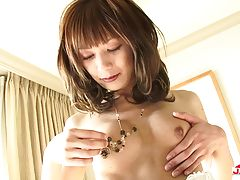 Beautiful transgirl Yuki Mizuno is smoking hot as always in this hot solo scene! Yuki has a sexy body, big juicy boobs, a great ass and a hard throbbing cock! Watch this sexy TS undress and stroke her hard lady stick!