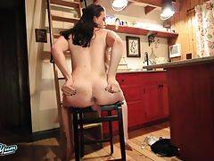 Jenna Creed is a horny kinky tgirl with a sexy body, natural hormone breasts, a juicy ass and a delicious cock! See this hot Grooby girl spreading her cheeks and stroking her hard cock for you!