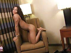 Boricua Princess is a nice mix of Puerto Rican and Black. Verse bottom who loves to twerk her little bubble booty.