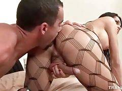 Tough Stud Bangs Hot Shaped T-Girl 1