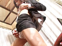 Firm round titties, a clean shaven cock and nice ass this hot brunette transgirl has got the looks that will any guy hard as rock. And when she feels hot and horny, she`s going to play anytime and anywhere...inside or outside! Watch the sexy transgirl Sei