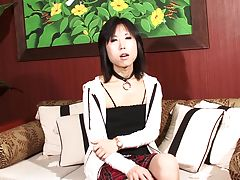 Setsuna Saotome is pretty, unbelievably cute, her body is petite and tight- and she loves to be touched. Watch her as she has a great time rocking it out and stroking her hard tgirl cock.