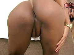 Patricia Cambell is a sexy Brazilian Grooby girl with a hot slim body, a nice ass and a big rock hard uncut cock! Enjoy this hot tgirl getting naked and jacking her hard cock for you!