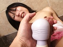 Setsuna Saotome has a great body and nice hard tgirl cock. This sexy and hot tgirl has a lot of fun in the bathroom as she gets out her hard tgirl cock and plays it for you. Enjoy!
